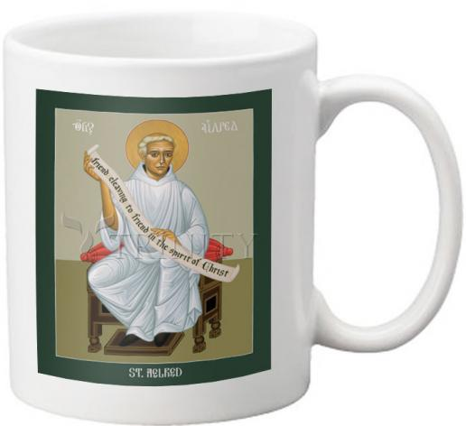 Coffee-Tea Mug - St. Aelred of Rievaulx by R. Lentz