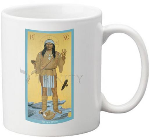 Coffee-Tea Mug - Apache Christ by R. Lentz