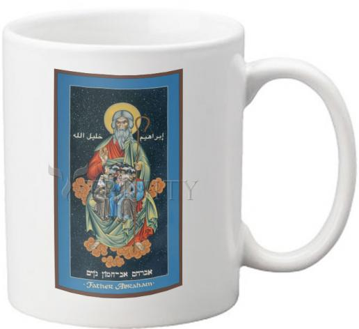 Coffee-Tea Mug - Children of Abraham by R. Lentz
