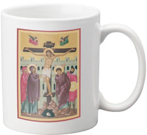 Coffee-Tea Mug - Crucifixion by R. Lentz
