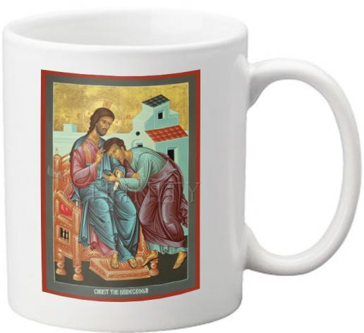 Coffee-Tea Mug - Christ the Bridegroom by R. Lentz