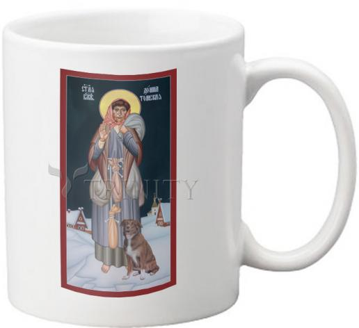 Coffee-Tea Mug - St. Domna of Tomsk by R. Lentz