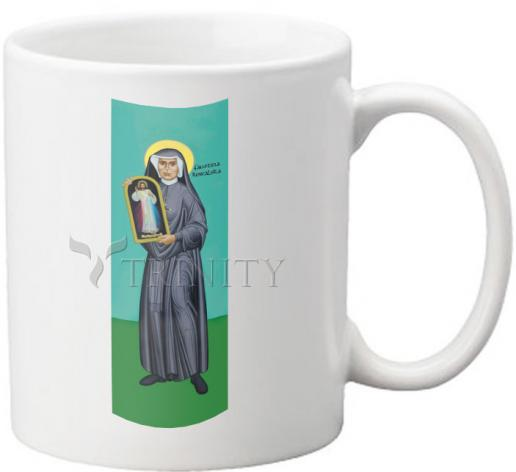 Coffee-Tea Mug - St. Faustina Kowalska by R. Lentz