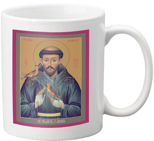 Coffee-Tea Mug - St. Francis of Assisi by R. Lentz