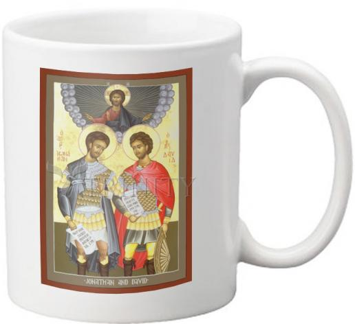 Coffee-Tea Mug - Jonathan and David by R. Lentz