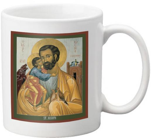 Coffee-Tea Mug - St. Joseph of Nazareth by R. Lentz
