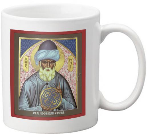 Coffee-Tea Mug - Jalal Ud-din Rumi of Persia by R. Lentz
