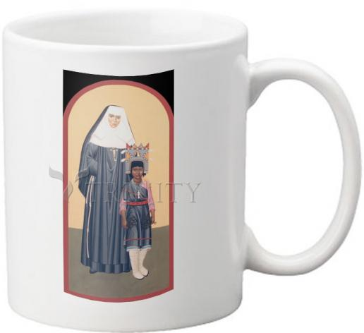 Coffee-Tea Mug - St. Katharine Drexel by R. Lentz