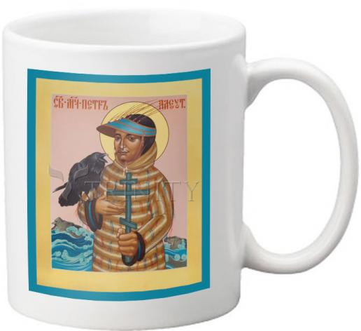 Coffee-Tea Mug - St. Peter the Aleut by R. Lentz