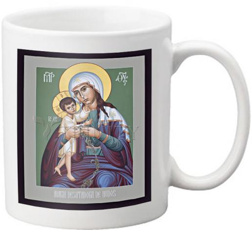 Coffee-Tea Mug - Mary, Undoer of Knots - Spanish by R. Lentz