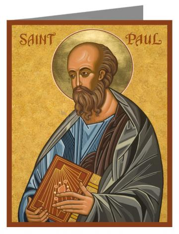 Custom Text Note Card - St. Paul by J. Cole