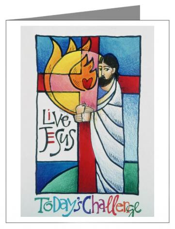 Custom Text Note Card - Sr. Thea Bowman: This Little Light Of Mine by M. McGrath