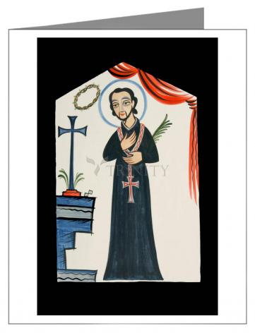 Note Card - St. Cayetano by A. Olivas