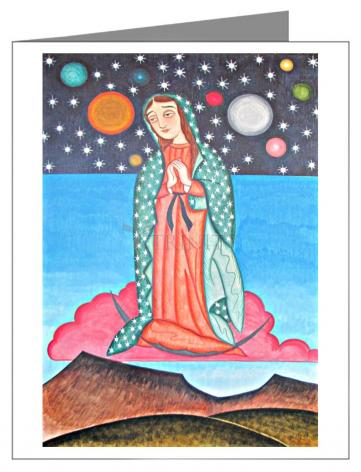 Note Card - Our Lady of the Cosmos by A. Olivas