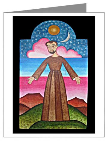 Note Card - St. Francis of Assisi, Herald of Creation by A. Olivas