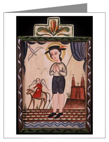 Note Card - St. Isidore by A. Olivas