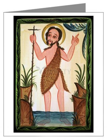 Note Card - St. John the Baptist by A. Olivas