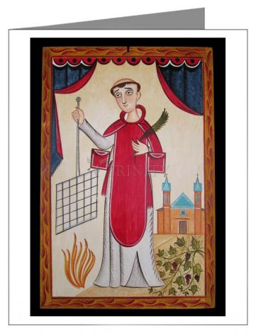 Note Card - St. Lawrence by A. Olivas