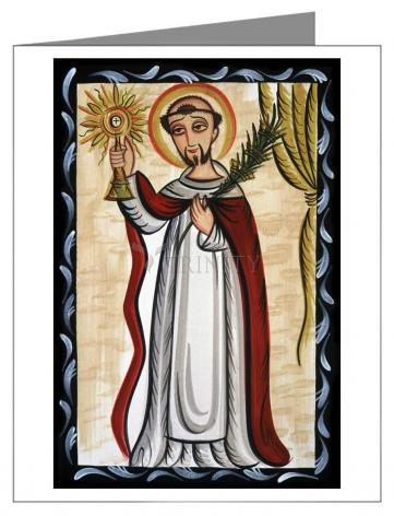 Note Card - St. Raymond Nonnatus by A. Olivas