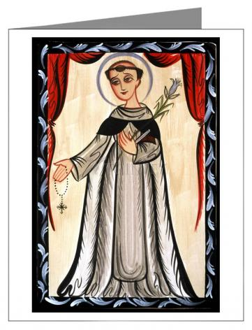 Note Card - St. Dominic by A. Olivas