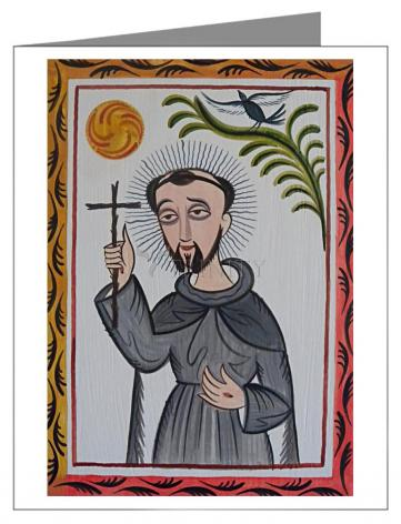 Note Card - St. Francis of Assisi by A. Olivas