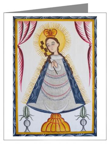 Note Card - Virgin of the Macana by A. Olivas