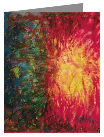 Note Card - Crucifixion by B. Gilroy