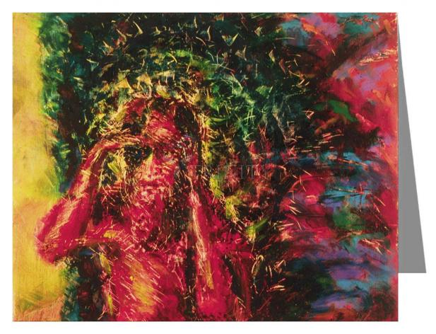 Note Card - St. Lazarus by B. Gilroy