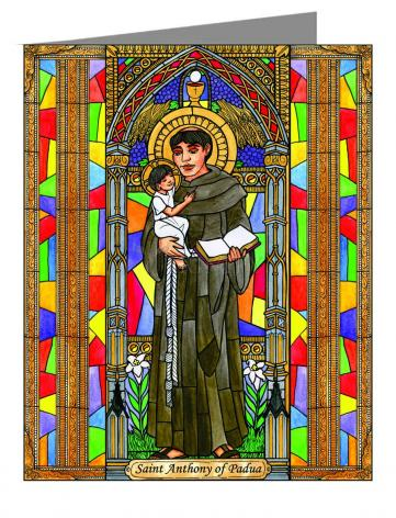 Note Card - St. Anthony of Padua by B. Nippert