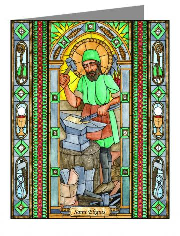 Note Card - St. Eligius by B. Nippert