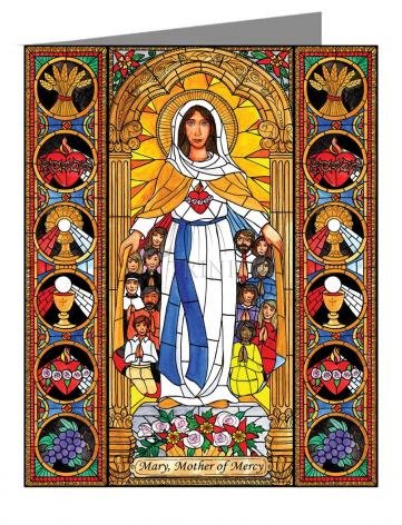 Note Card - Mary, Mother of Mercy by B. Nippert