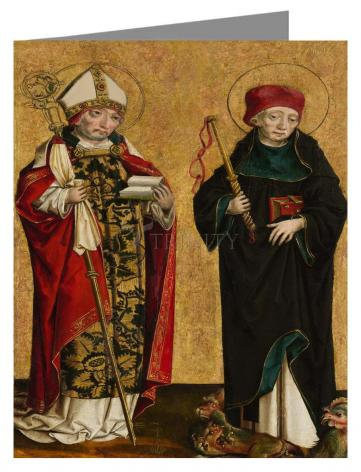 Note Card - Sts. Adalbert and Procopius by Museum Art