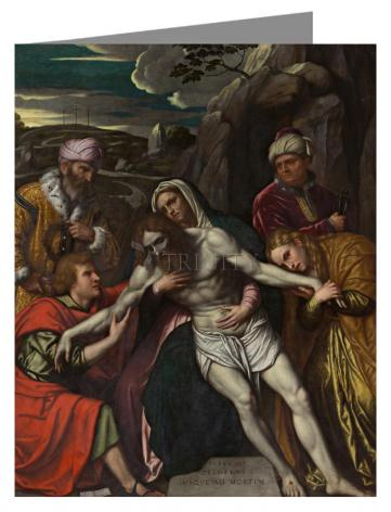 Note Card - Entombment by Museum Art