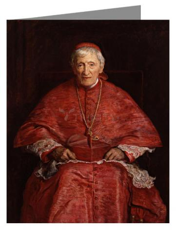 Note Card - St. John Henry Newman by Museum Art