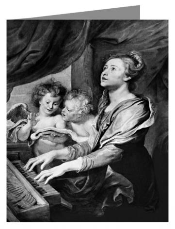 Note Card - St. Cecilia by Museum Art