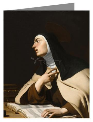 Note Card - St. Teresa of Avila by Museum Art