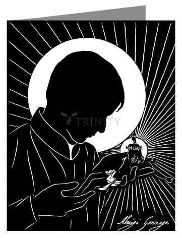 Note Card - St. Aloysius by D. Paulos