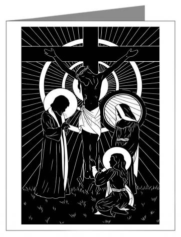 Note Card - Behold Thy Mother by D. Paulos