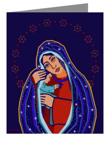 Note Card - Madonna and Child by D. Paulos
