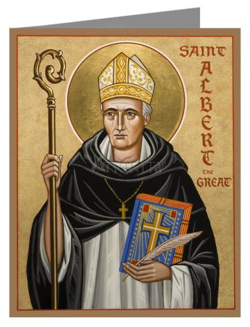 Note Card - St. Albert the Great by J. Cole