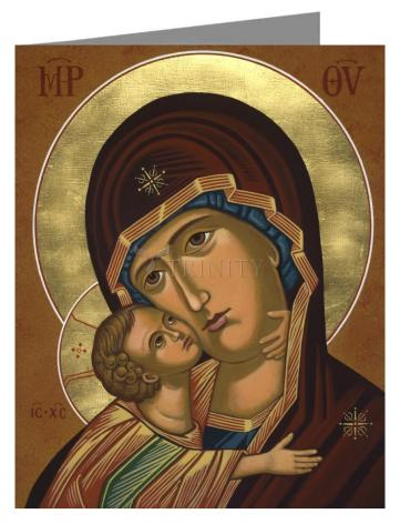 Note Card - Virgin of Vladimir by J. Cole