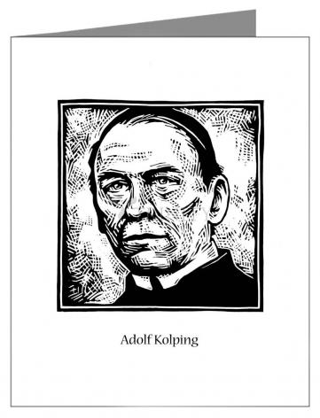 Note Card - St. Adolf Kolping by J. Lonneman