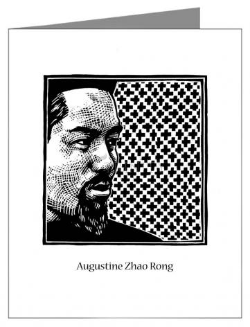 Note Card - St. Augustine Zhao Rong and 119 Companions by J. Lonneman