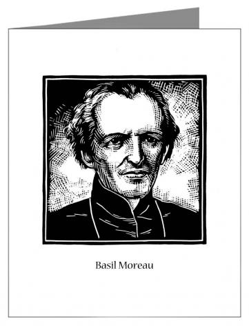 Note Card - Bl. Basil Moreau by J. Lonneman