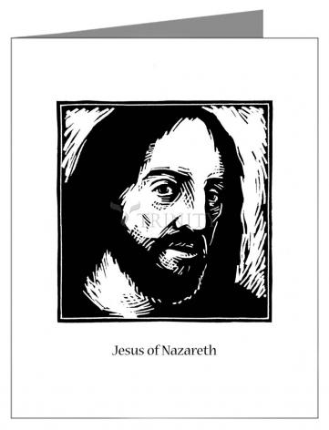 Note Card - Jesus by J. Lonneman