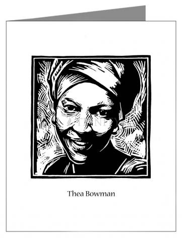 Note Card - Sr. Thea Bowman by J. Lonneman