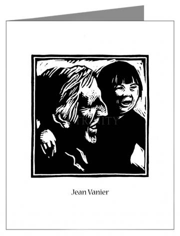 Note Card - Jean Vanier by J. Lonneman