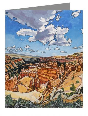Note Card - Bryce Brewing Monsoons by L. Williams