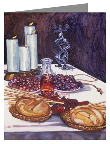 Note Card - Communion by L. Williams