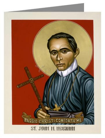 Note Card - St. John Nepomucene Neumann by L. Williams
